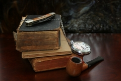 pipe-watch-smoke-knife-books-wallpaper